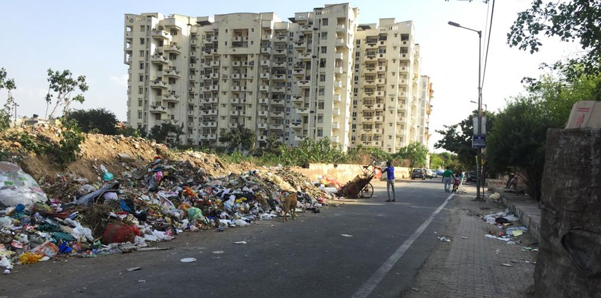 Dwarka: Sec 7 residents resort to open garbage dum