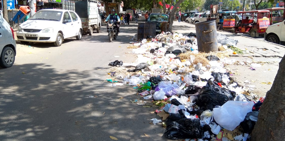 SDMC fails miserably in managing waste in market areas, say Dwarka residents
