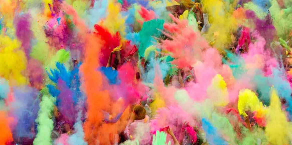 Let the Holi party begin!