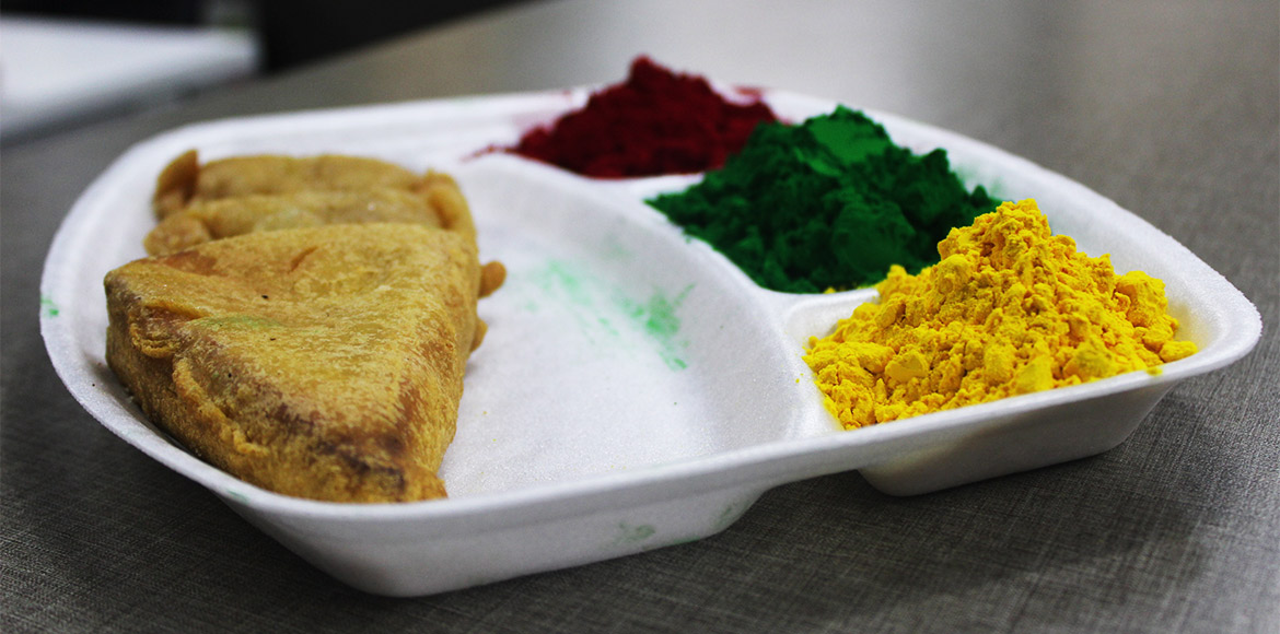 Holi celebrations in societies without food? No Way!!!