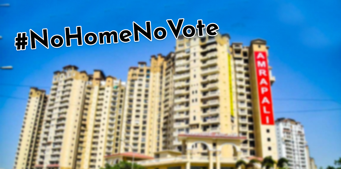 Dejected Amrapali home buyers decide not to vote in general elections