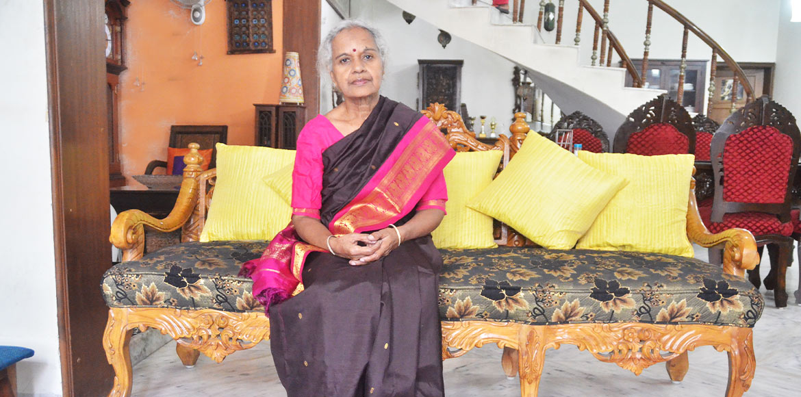 Meet Padmavathy Bandopadhyay, a true epitome of women empowerment