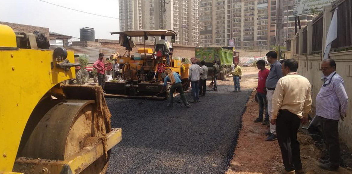 I'puram: 'No Work No Vote' campaign forces GDA to begin Mall Road work