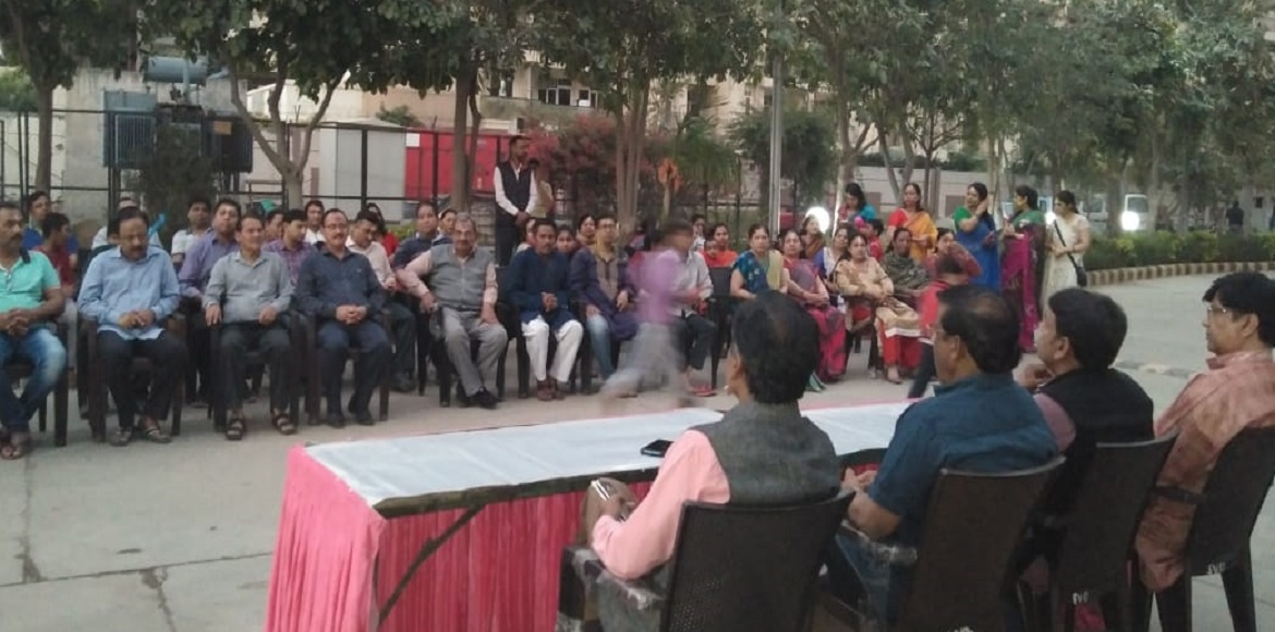 Residents of Ghaziabad turn up for voter awareness program
