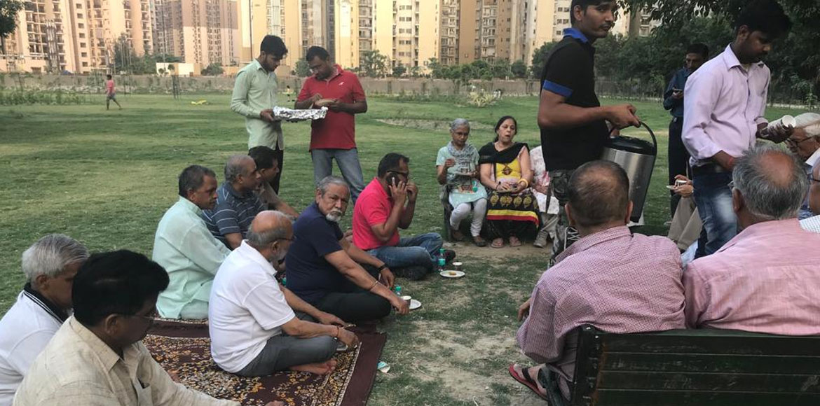 Noida: Resident body of Jal Vayu Vihar forms dedicated group for elderly