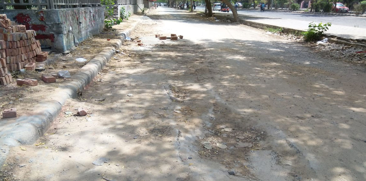 Dwarka: Residents of Sec 4 unhappy with road restoration work; demand action
