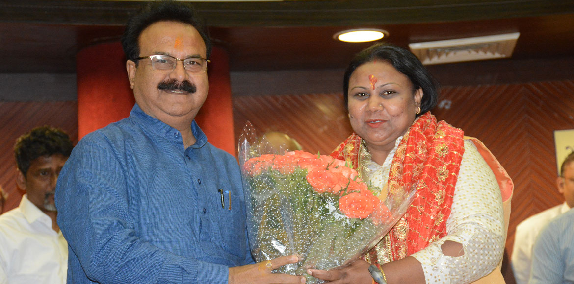Sunita Kangra takes charge as new SDMC Mayor; lists priorities