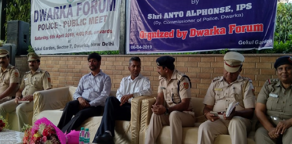 Dwarka RWAs organise police-public meet; discuss safety, security