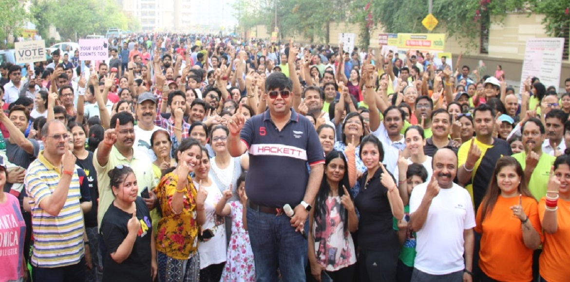 Residents turn out in huge number for Raahgiri event at Noida
