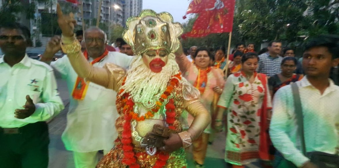 PHOTO KATHA: Ram Navami celebrated with full religious fervour in GreNo West