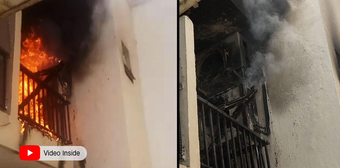 Fire incident at Saya Zenith: Residents blame poor maintenance; demand probe