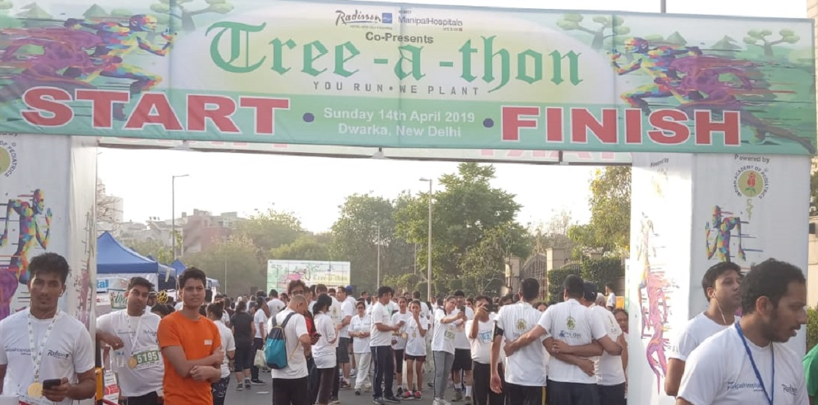 PHOTO KATHA: Hundreds participated in Tree-a-thon at Dwarka