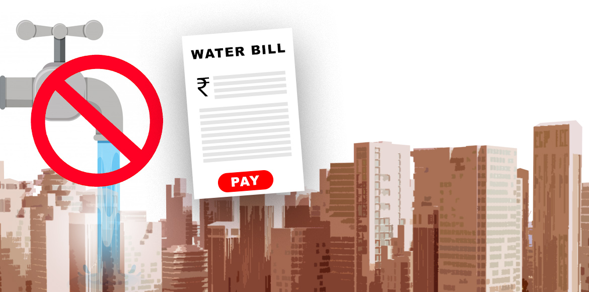 GMDA issues notices to 70 builders for non-payment of water bills