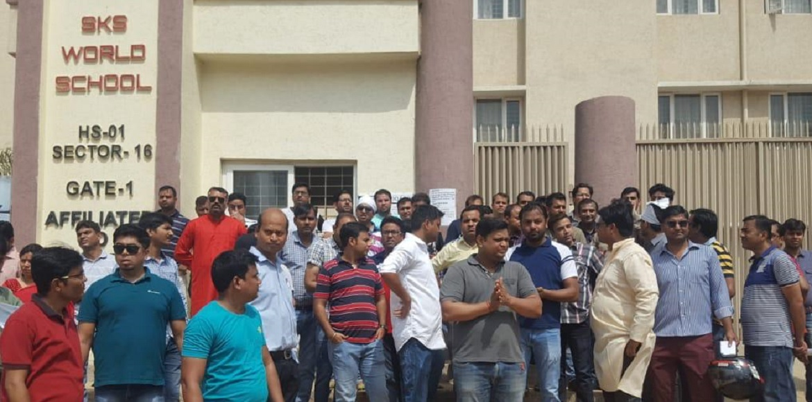 GreNo West: After much furore, SKS school to condu