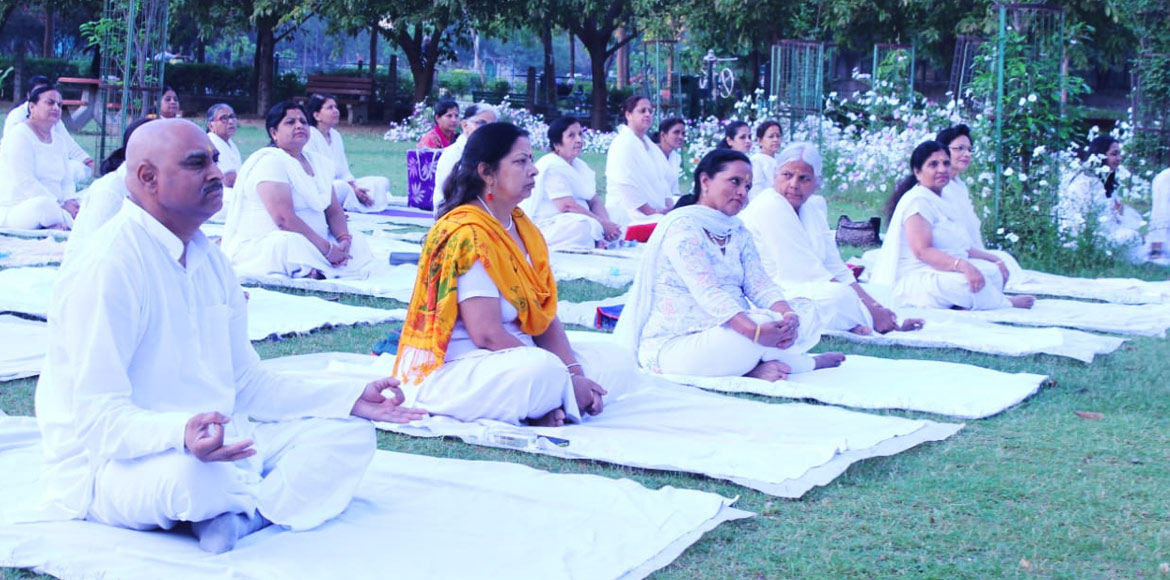PHOTO KATHA: Bhartiya Yog Sansthan celebrates anniversary with mega yoga session