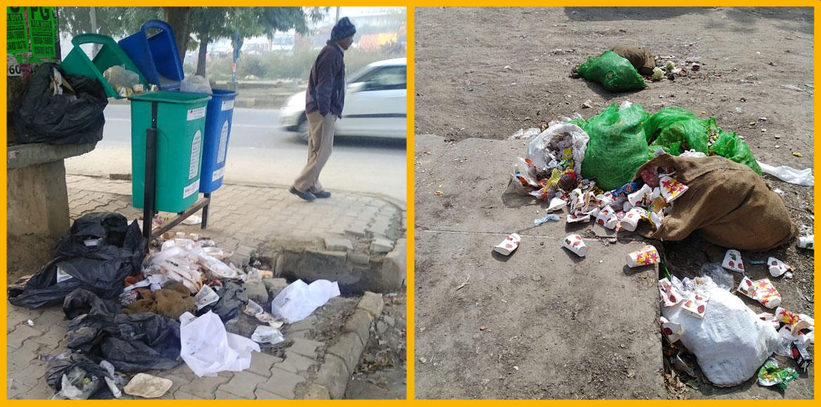 Gurugram: Residents of Sector 22B miffed as upkeep firm fails to pick up garbage