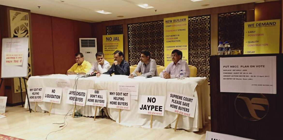 Flat buyers question role of IRP amid confusions in JIL's insolvency