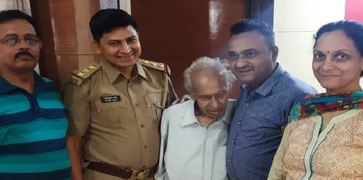 Indirapuram Police lauded for reuniting 'missing'