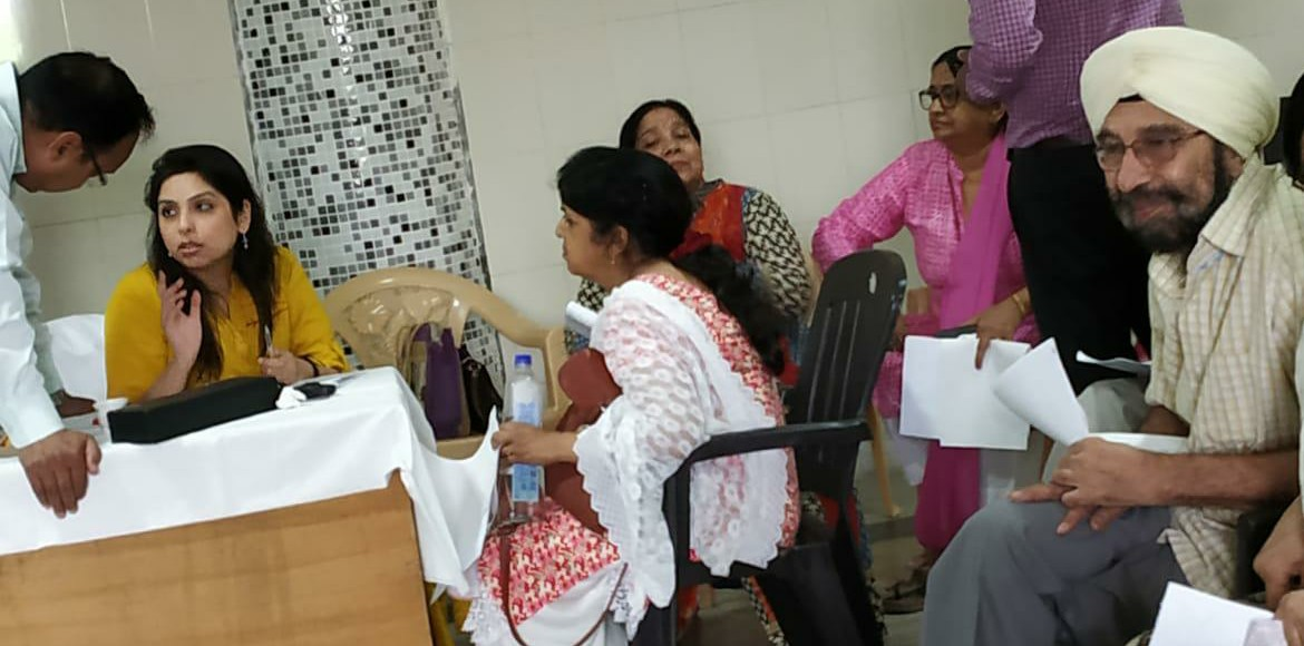 Community health checkup camp held in Dwarka