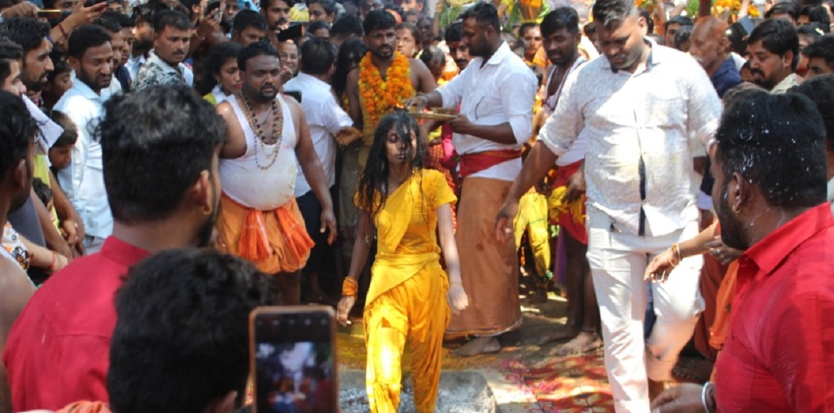 PHOTO KATHA: Tamil community celebrates Sheetla Pu