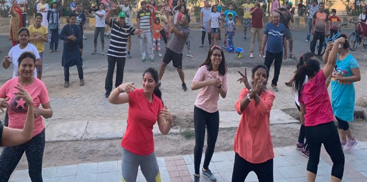 Indirapuram: Residents celebrated Bhagidaari Day at Ahinsa Khand-II