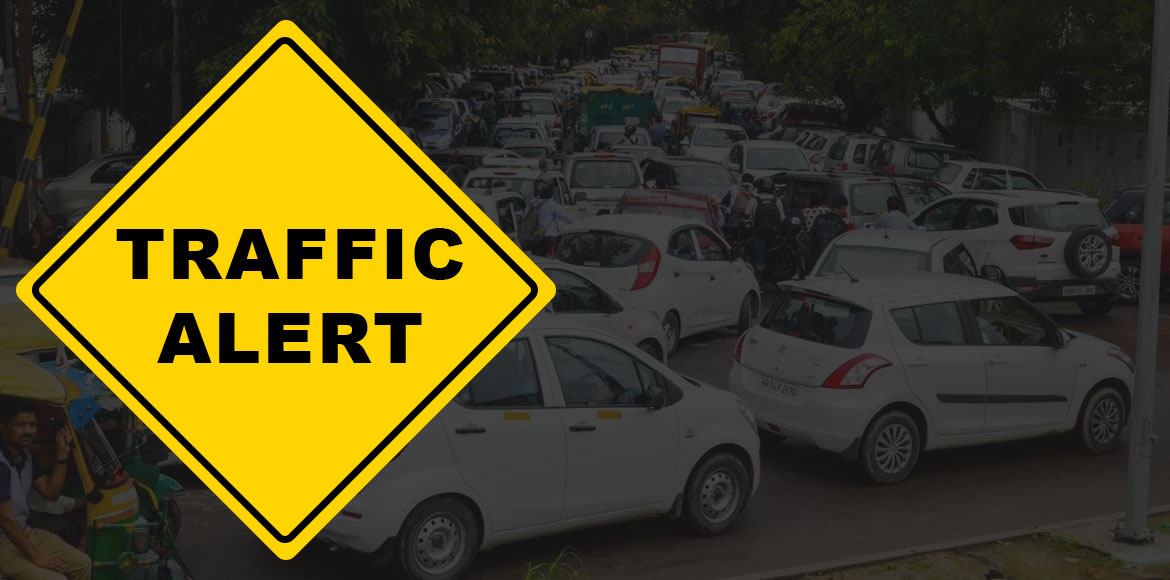 Traffic advisories issued in Dwarka, Gurugram for