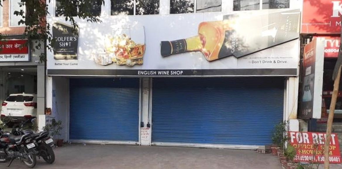 Ahinsa Khand II: GDA seals 'one' liquor shop for flouting norms