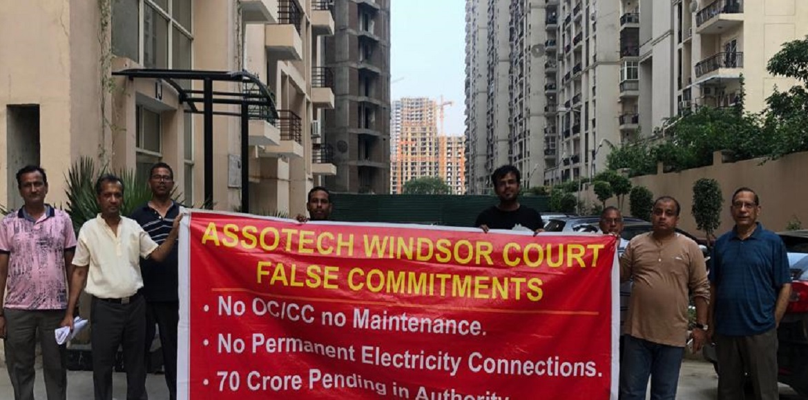 Assotech Windsor Court: Residents worried over trimming of security staffs