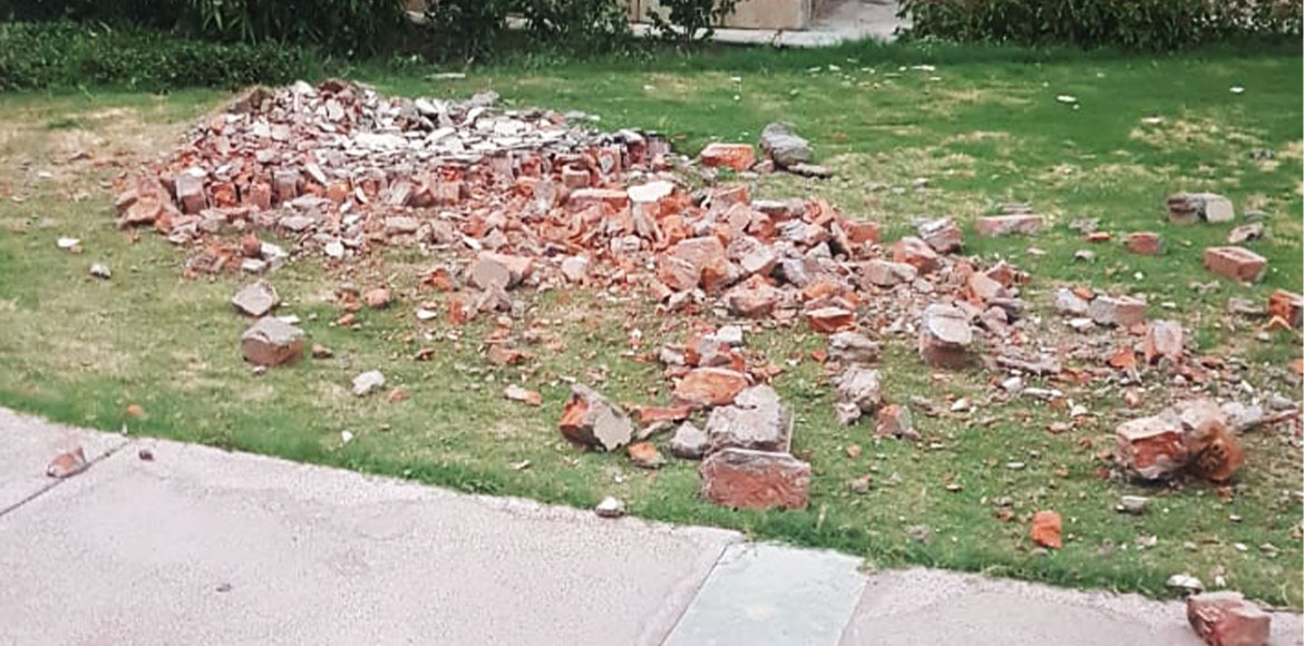 Gurugram: Shaft wall collapses in Fresco; residents file FIR over safety fears