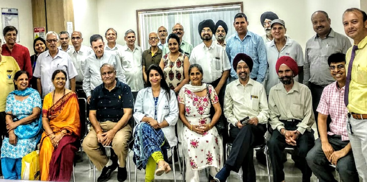 Extensive programme with discussions on 'Glaucoma' organised at Dwarka