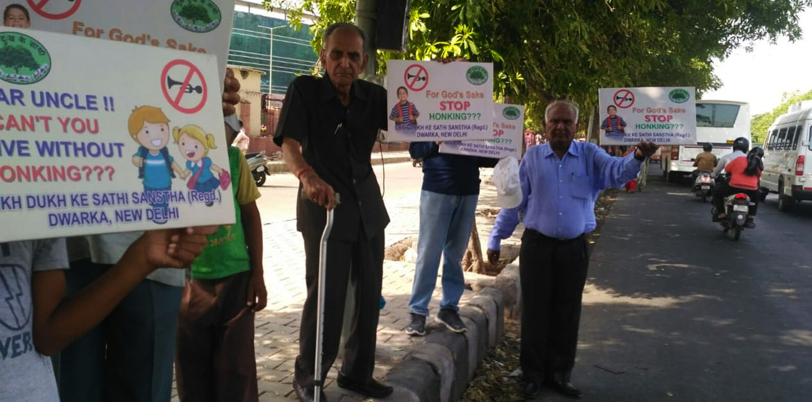Dwarka: Senior citizens pledge for a better environment