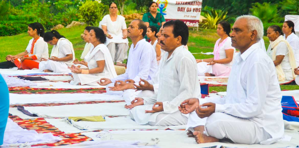 Residents to celebrate 'International Yoga Day' at Noida stadium tomorrow