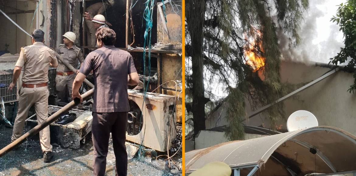 Fire breaks out at Noida Authority office; no casualty reported