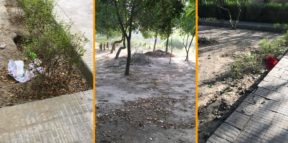 Poorly maintained park irks residents of ATS Green
