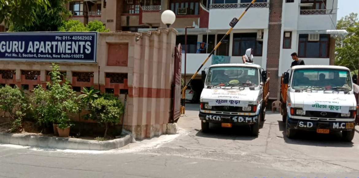 SDMC starts collecting 'segregated waste' from societies across Dwarka
