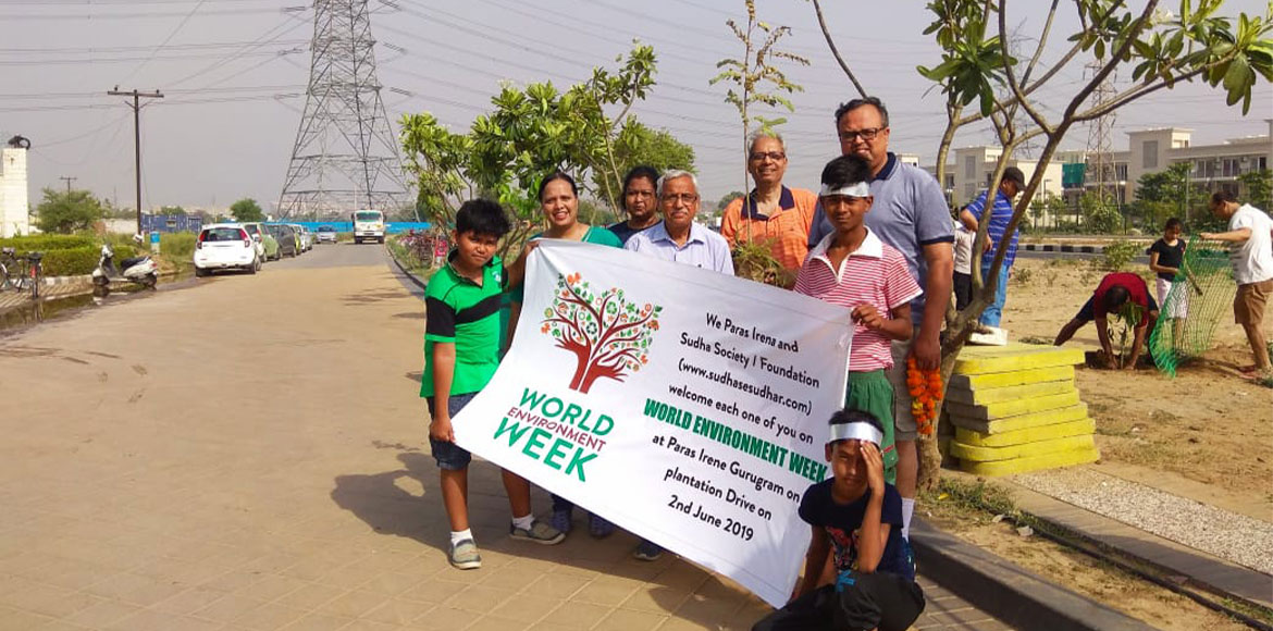 Gurugram: Paras Irene residents celebrate 'World Environment Week'