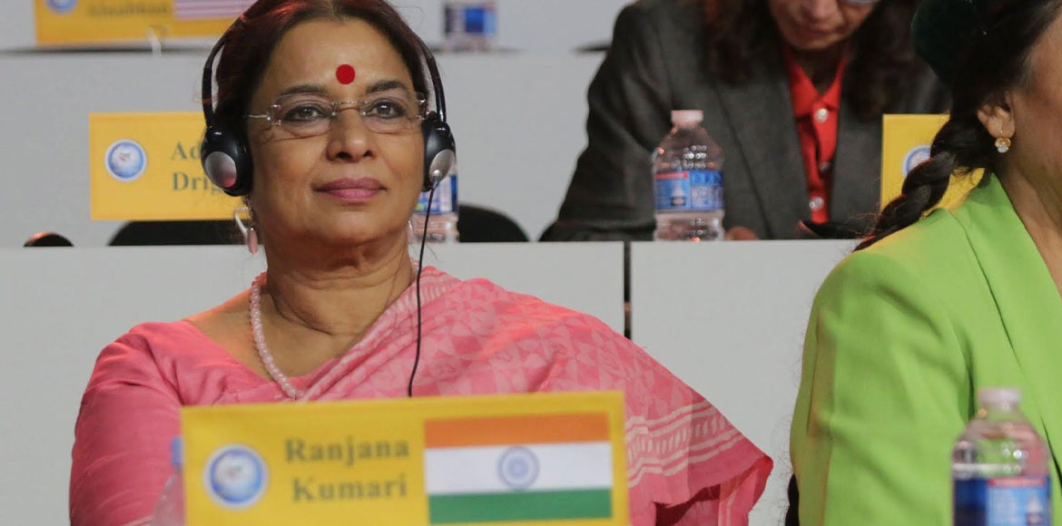 Dr Ranjana Kumari included in Apolitical's 100 most influential people's list