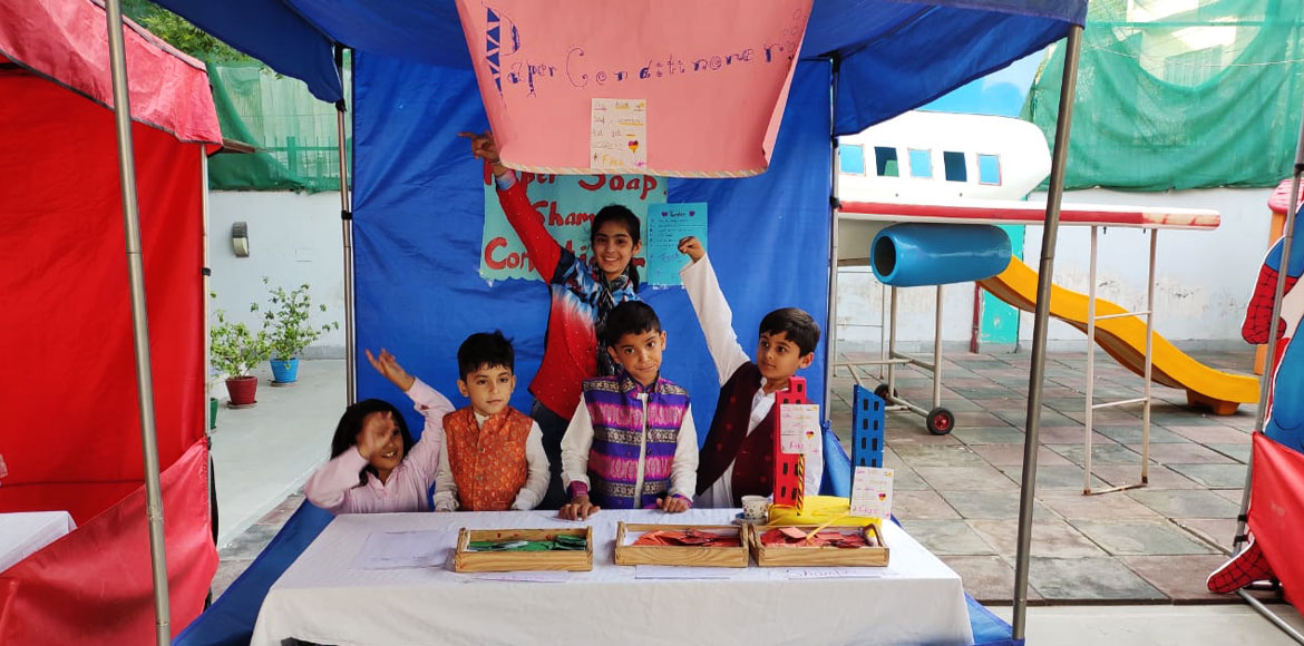 Noida: Rayz International Preschool organises 'start-up' camp for kids