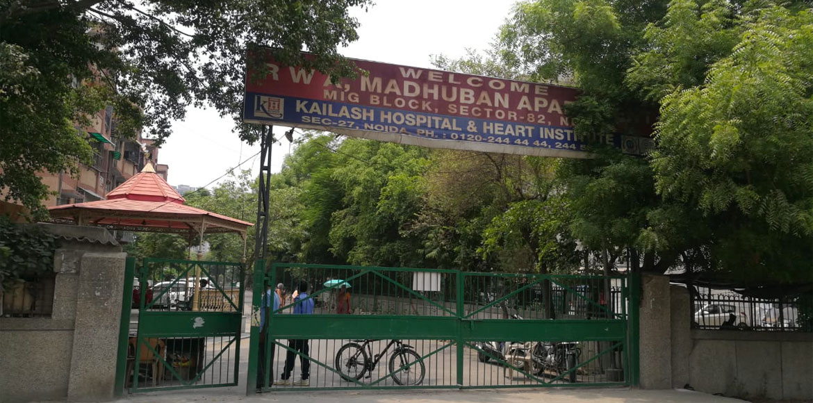 Noida: City Magistrate orders action against forceful closing of gate at Sec 82