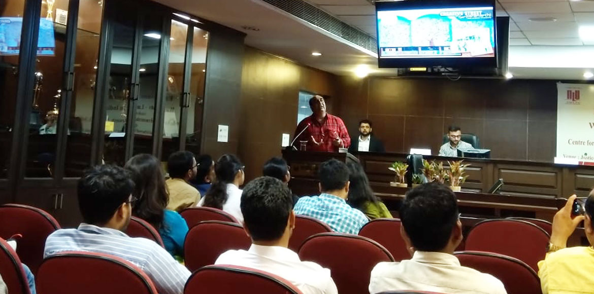 Dwarka: Colloquium on waste management organised at National Law University