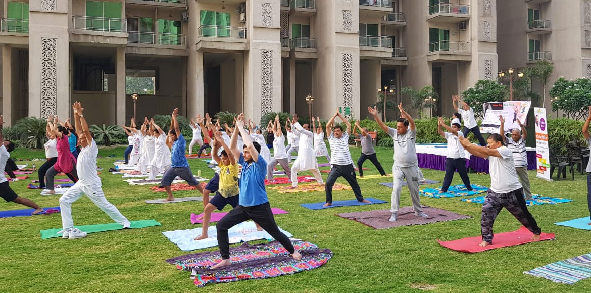 Residents across Delhi-NCR celebrate Yoga Day with