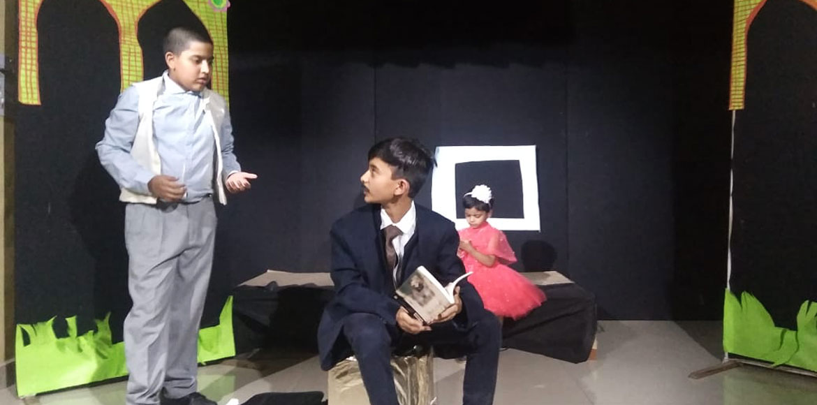 Dwarka kids depict life of Mahatma Gandhi through stage performance