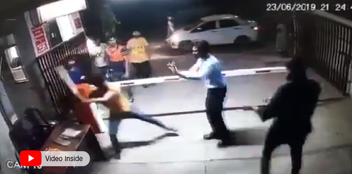 Crossings Republik: Group of men beats up security personnel for denying entry