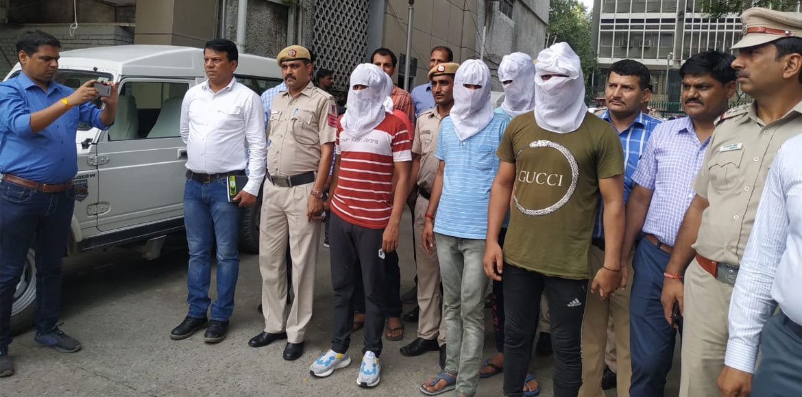 Dwarka shooting case: Five people, including two c