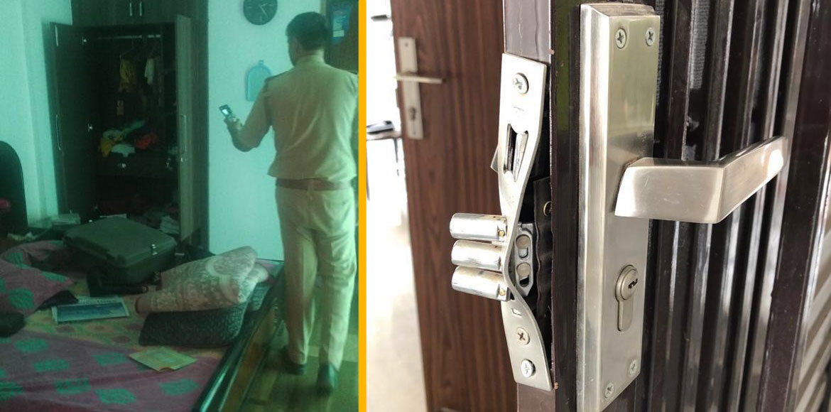 Two flats burgled in broad daylight at Ace City in Greater Noida
