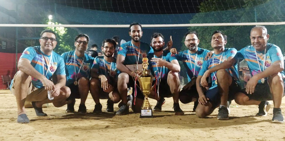 Gurugram: Three-day-long volleyball tournament con