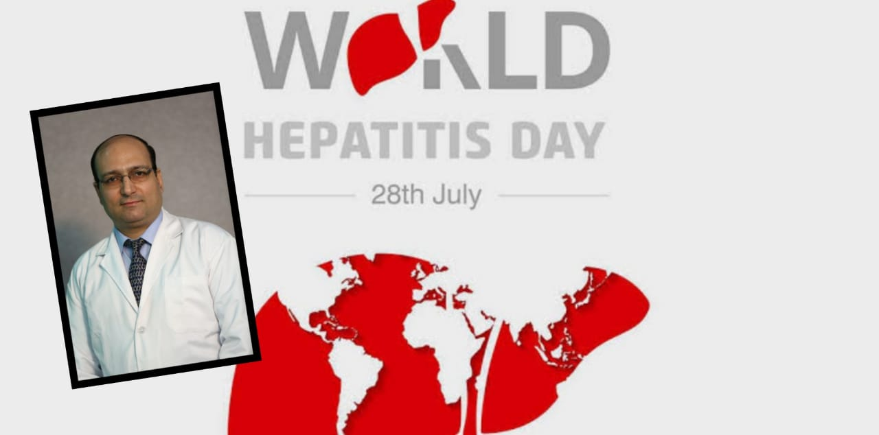 Dr. Manish Kak talks to CitySpidey on World Hepatitis Day