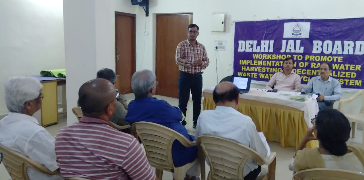 Dwarka residents become aware of water conservation through rainwater harvesting