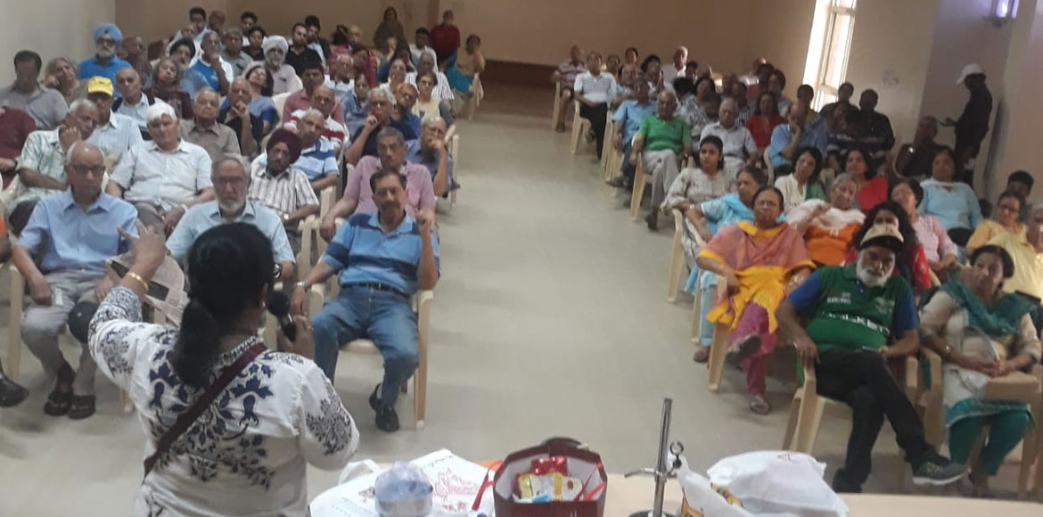 In Pictures: Workshop on waste segregation held in Noida's Jal Vayu Vihar