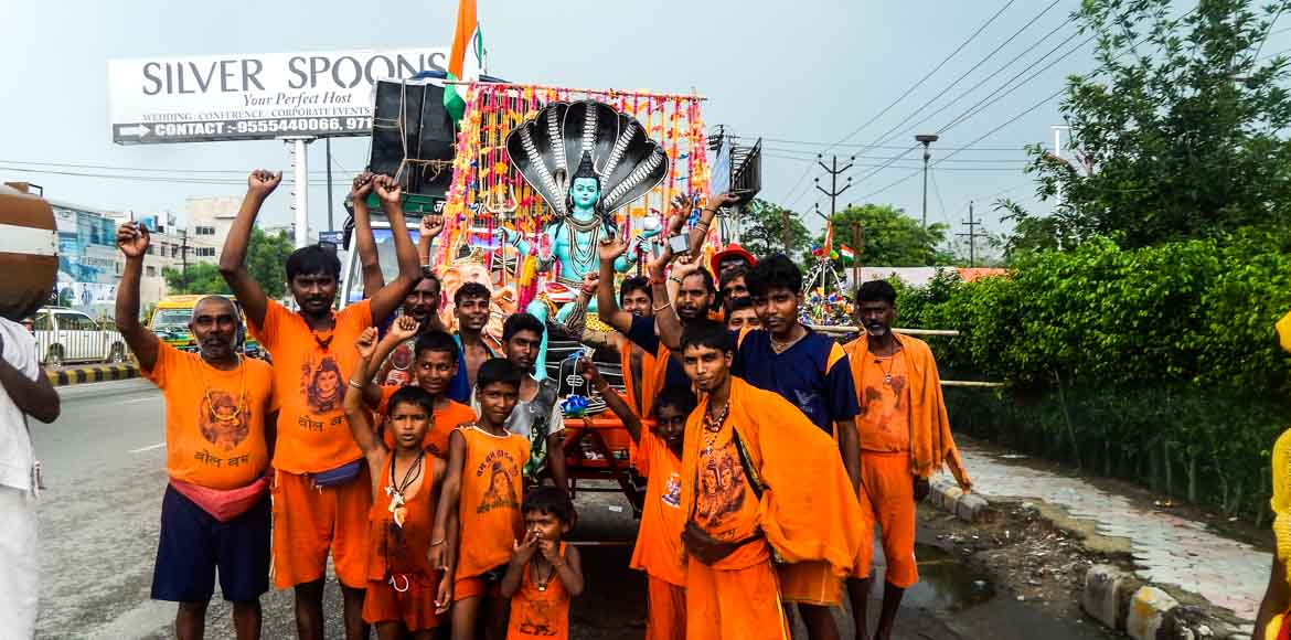 Ghaziabad: Traffic advisory issued for Kanwar Yatra